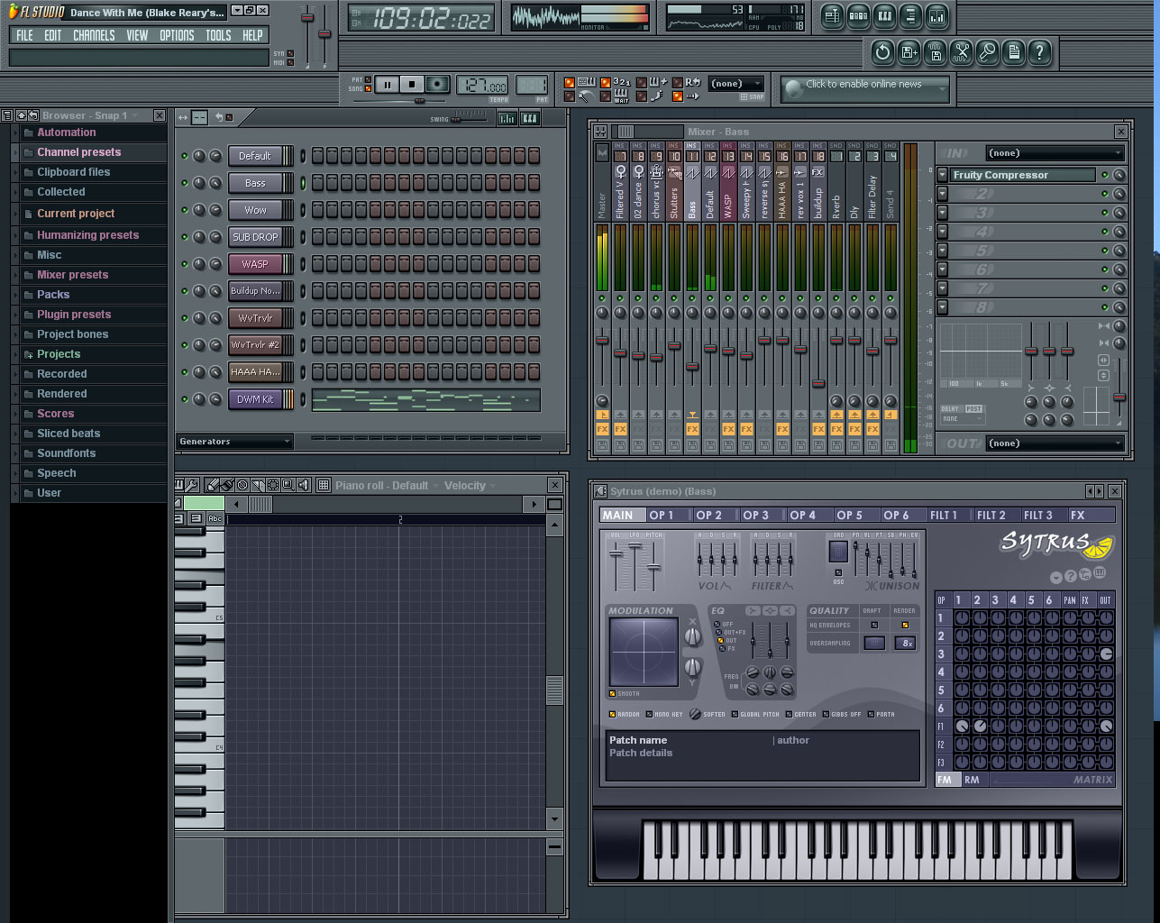 Fruity Loop Studio 10